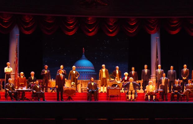 The Hall of Presidents - Magic Kingdom