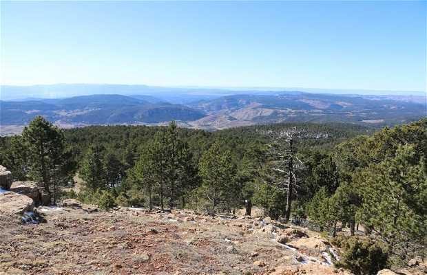 Mirador del pico de Peñarroya