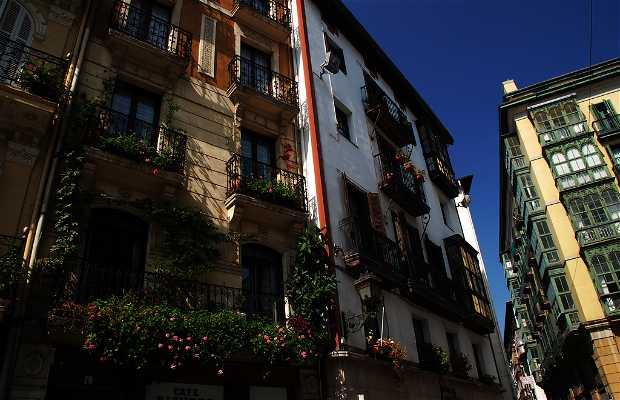 As Sete Ruas de Bilbao