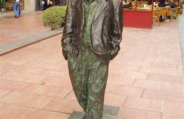Escultura a Woody Allen
