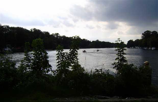 Wannsee lake