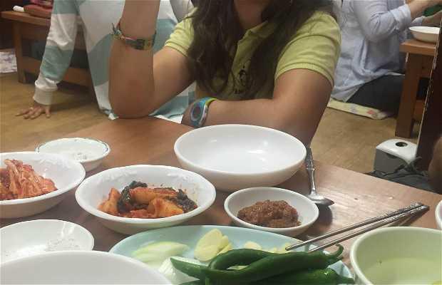 Restaurante tradicional coreano