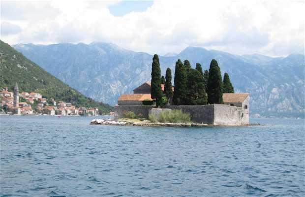 Islote de Sveti Dorde en Perast