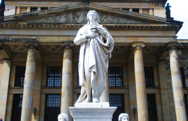 Estatua de Schiller