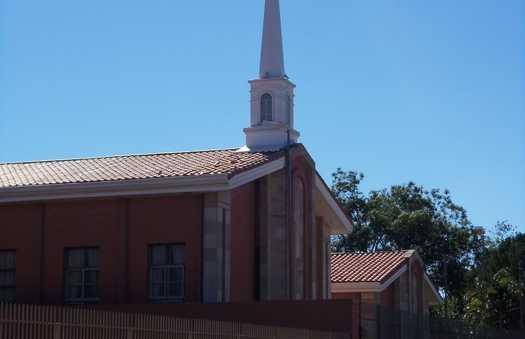 L'église mormonne de Paraguari