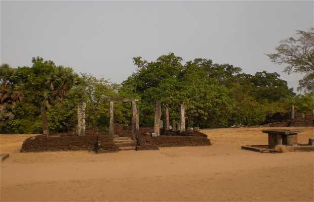 Quadrangle of Polonnaruwa