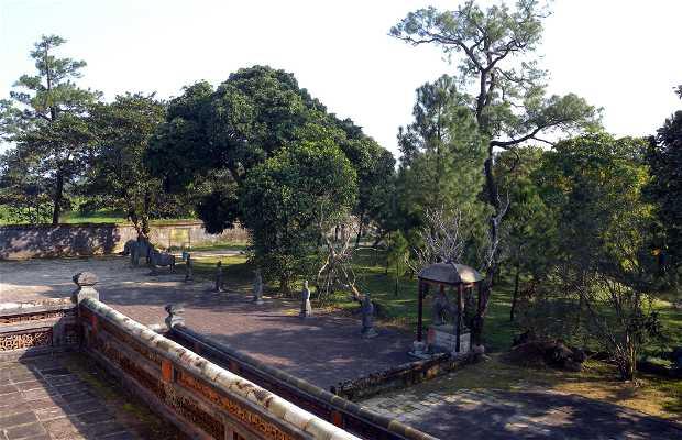 Hue, la Tomba del Re Minh Mang
