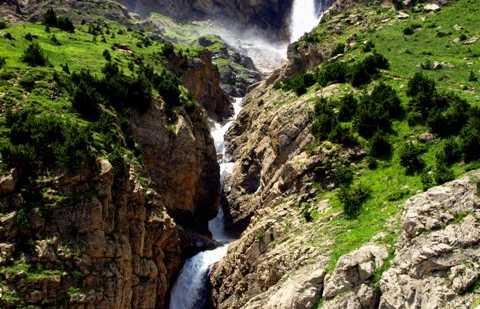 Cachoeira da nascente do Cinca