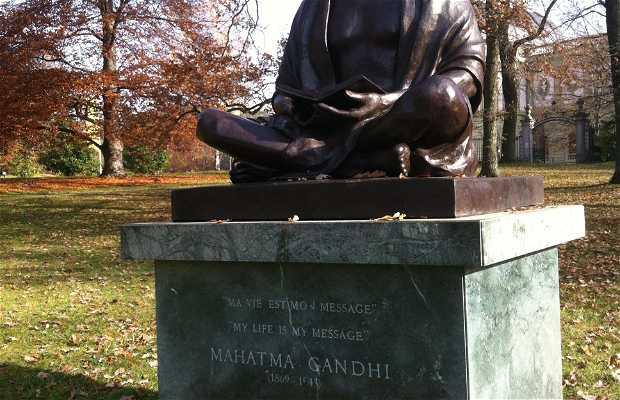 Estatua de Gandhi