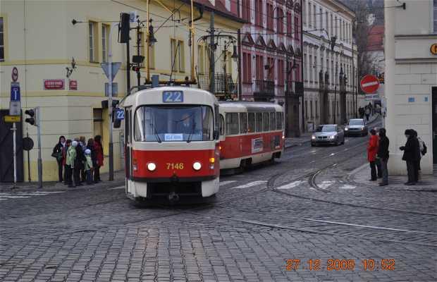 Tranvías de Praga