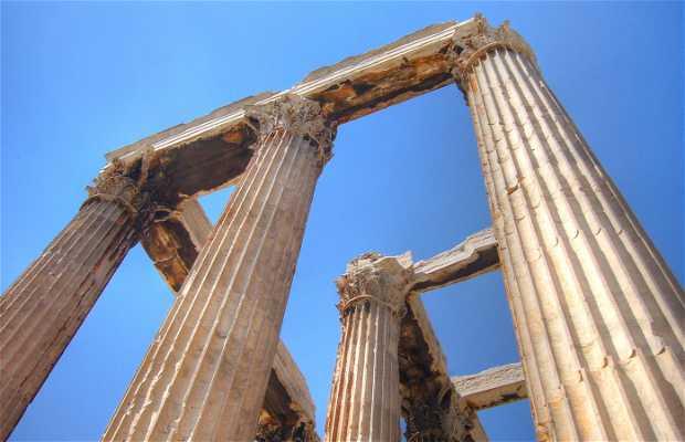 Olympiéion - Temple de Zeus