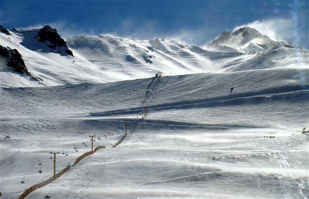 Stazione di sci Los Penitentes di Mendoza