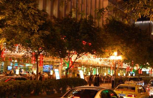 Passeggiata del Fiume delle perle a Guangzhou