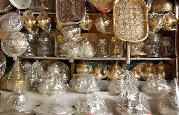 Artigianato di ottone a Tangeri
