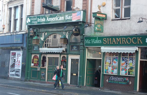 The Irish American bar