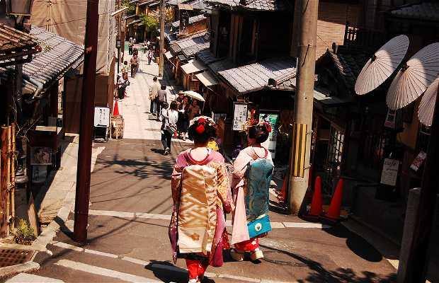 Le Geisha e le Maiko, Kyoto