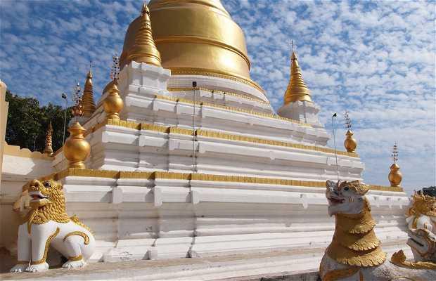Palaces, temples and pagodas at Inwa