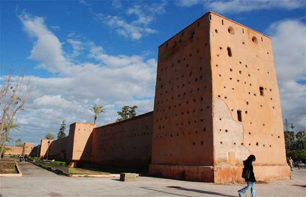 Wall of Marrakech