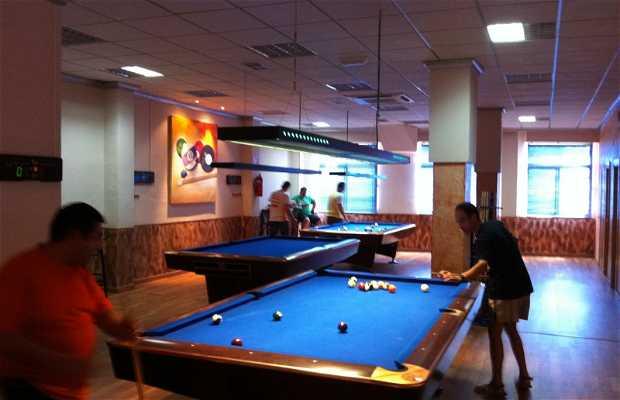 Club 10 cafetería salón de billar