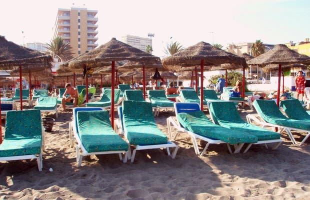 Spiaggia El Bajondillo a Torremolinos