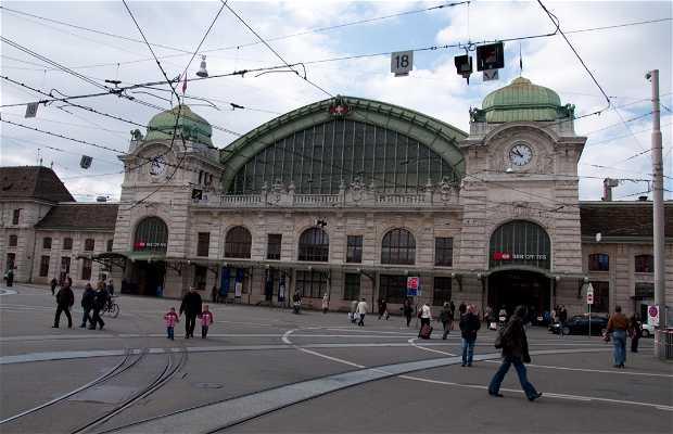 Basel SBB Railway Station