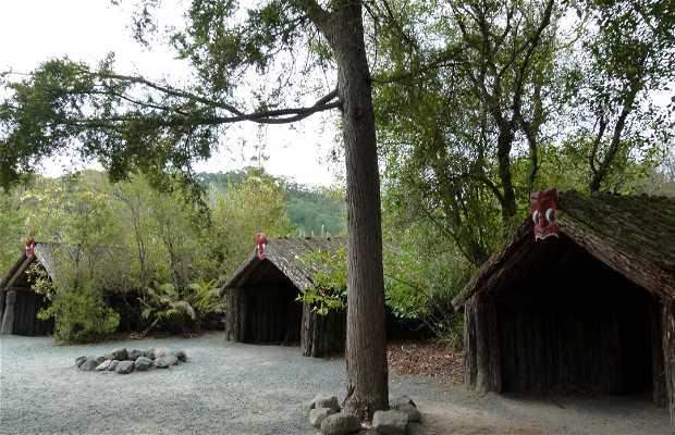 Villaggio Maori di Tamaki