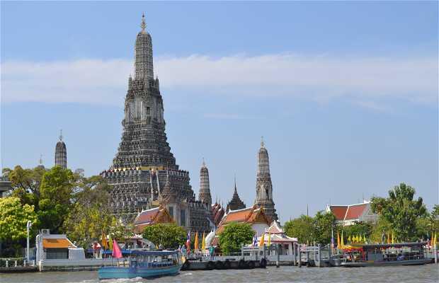 """El """"Ferry Boat"""" de Bangkok"""