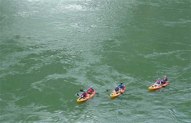 Recorrido Kayak 7 kilómetros