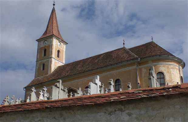 Saliste Fortified church