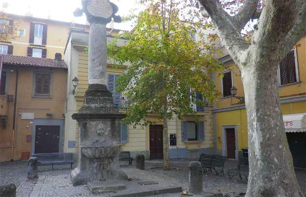 Fontana di Piazza Paolo III