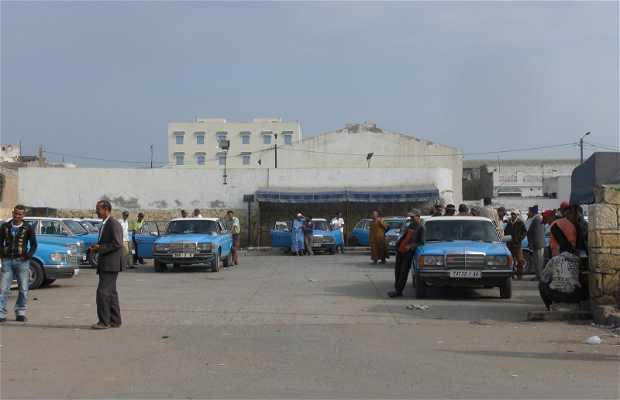 Estación de taxi grandes