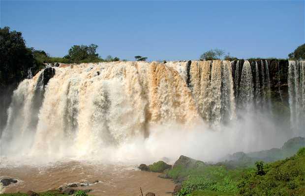 Las cataratas del Nilo Azul