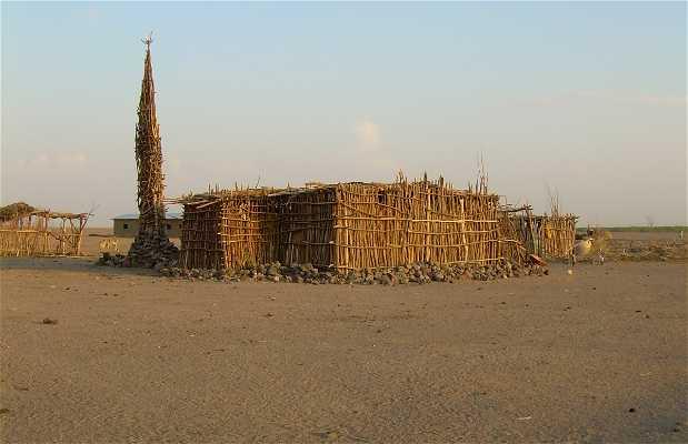 Mezquita de madera