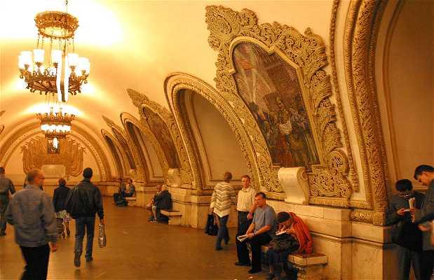 Estación Kiyevskaya - Linea Circular