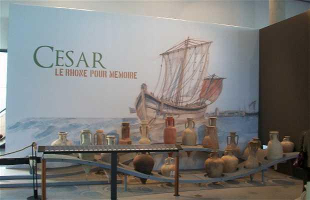 """Exposicion """"César, le Rhône pour mémoire"""""""