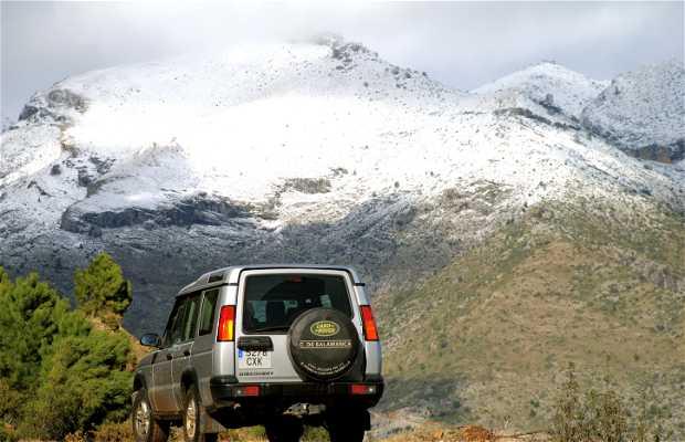Nieve en Málaga
