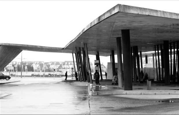 Terminal Hoenheim Nord de Zaha Hadid