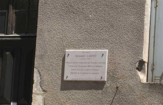 La maison de Alexandre Lasnet