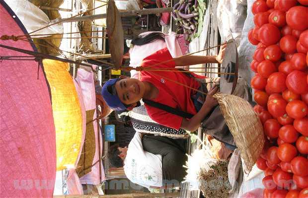 Mercado de Nyaung Shwe - Min Ga La Market (Lago Inle)