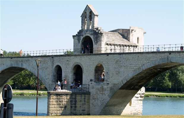 Puente de Aviñón - Pont St-Bénézet
