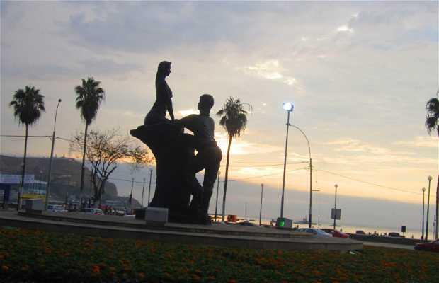 Estatua Amour Chorrillos
