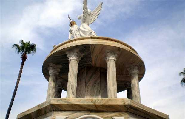 Monumento a la Virgen de las Angustias