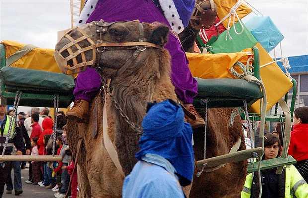 Défilé des Rois Mages à Puerto del Rosario
