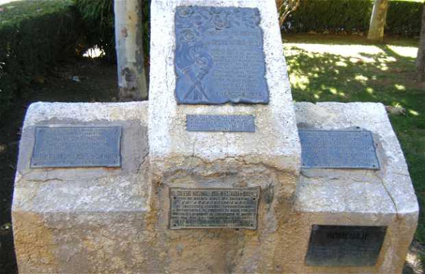 Monumento a Gregoria Matorras