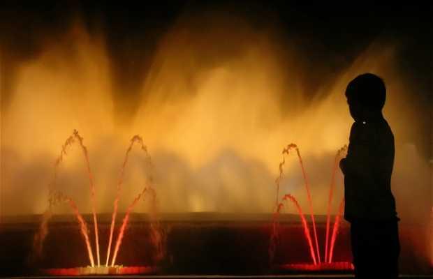 La fuente mágica de Montjuic