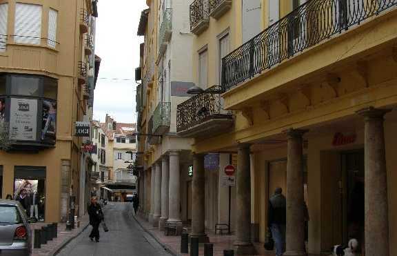 Centro storico di Perpiñán