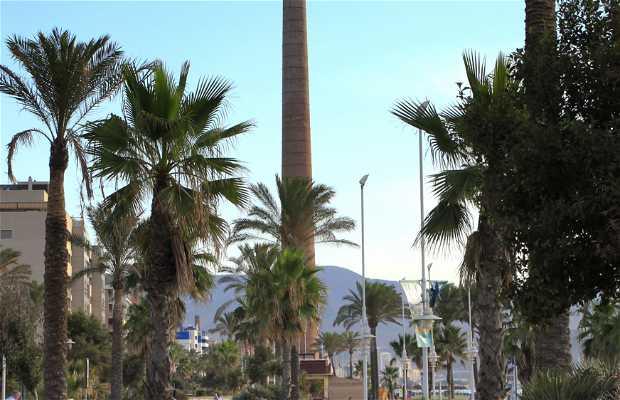 Spiaggia Misericordia a Malaga