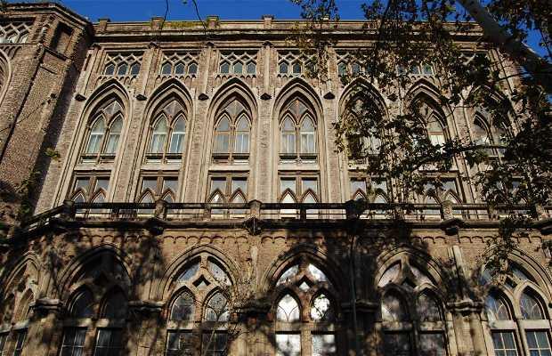 Antigua sede de la Facultad de Ingeniería