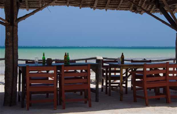 Restaurante de la playa