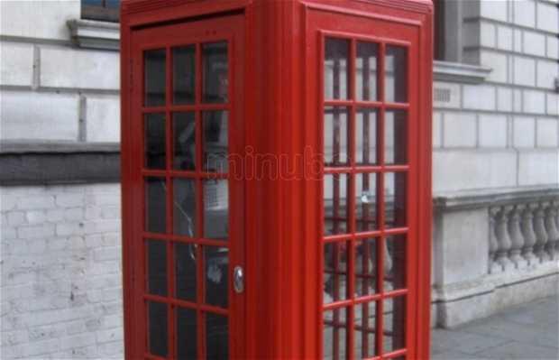 Cabines Téléphoniques rouges